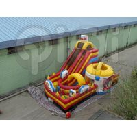 Inflatable Tom and Jerry giant slide playground thumbnail image