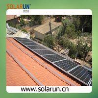 pirch tile roof solar mounting bracket (Solarun Solar)