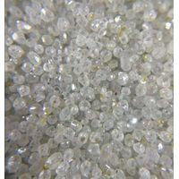 Rough white HPHT synthetic diamond round thumbnail image