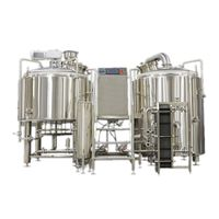 Stainless Steel Steam Brewhouse 10Hl thumbnail image