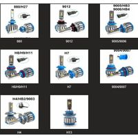 Factory Wholesale C6 S2 S1 X3 T1 T8 B6 T8S Series Auto LED Headlight Bulb