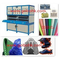 kpu label making machine for shoes, gloves, bags