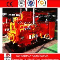 400KW 500KVA Natural Gas Generator set by Cummins Engine with CHP system
