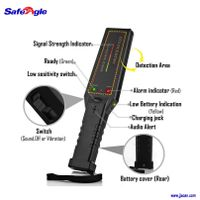 High quality portable hand held metal detector for body checking