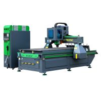 BCAM CNC Router machine with ATC for wood working,furniture carving