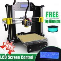 lseestudio 3D printer Reprap Prusa i3 a602 printer kit to France LCD screen control