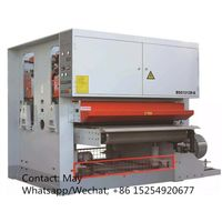 plywood two heads wide belt sander machine thumbnail image