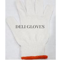 safety white hand gloves