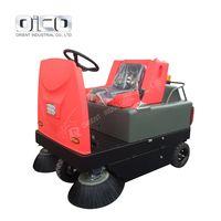C300 driveway cleaning road machines green machine road sweeper mechanical floor sweeper