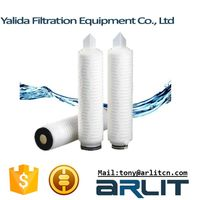 PP Pleated Membrance Water Filter Cartridge