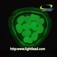 China wholesale pebble stone which can glow bright color in the dark thumbnail image