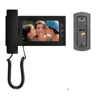 vídeo porteiro 7inch color handfree video door phone JS-S722E1