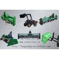 """""""LONGJIANG""""Hot sale CE approved chain&gear drive """"rotary tiller"""" thumbnail image"""