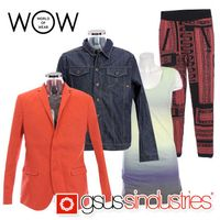 """""""GSUS"""" clothes for women and men wholesale"""