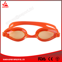 AF2000 Sport Eyewear Swimming Goggles Anti-fog With Flat Lens