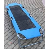 Aluminum military fishing bed cot for outdoor camping beach hiking comfortable and foldable leisure  thumbnail image