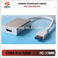 usb 3.0 to hdmi mhl cable with aluminum case thumbnail image