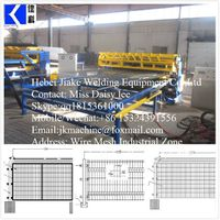 CNC Fence Mesh Welding Machine JK-FM-2500S