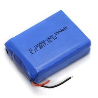 3.7V 8800mAh Lithium Ion polymer battery