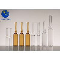 China manufacturer usp type I clear/amber glass ampoules