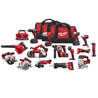 Milwaukee 2691-22 M18 Cordless 15-tool Combo Kit thumbnail image