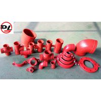 ductile iron grooved pipe fitting thumbnail image