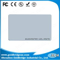China Top Ten Selling Printalbe ISO PVC Proximity 125Khz rfid TK4100 EM4200 ID Smart card