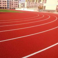 Spraying Coating Running Track