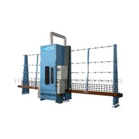 Glass automatic sandblasting machine