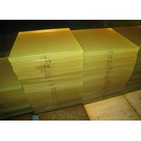 Light Yellow Polyurethane Sheet, PU Sheet White 30MPa, 80 - 90shore a thumbnail image