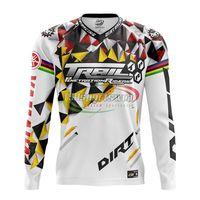 Custom made sublimation print mountain bike jerseys