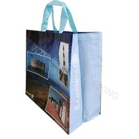 Bopp hot sale reusable laminated non woven bag high quality factory price recyclable shopping bag
