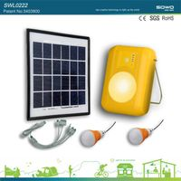 solar power home lighting system