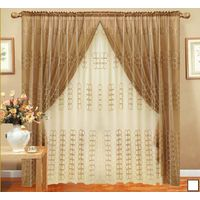 Embroidery curtain, household textile product, upholstery curtain thumbnail image