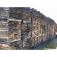 White oak unedged lumbers 80 mm thickness