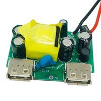 PCBA Circuit Board for Mobile Phone charger Dual USB Charger PCBA factory Assembly for Wall charger thumbnail image