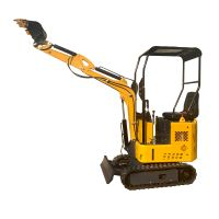 1 ton earth moving equipment excavator china machine small digger family tools for garden