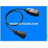 OBD 16 PIN ADAPTER CABLE FOR HEAVY TRUNK AUTOMOTIVE thumbnail image