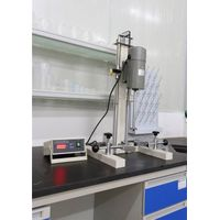 0.4KW multi function laboratory disperser mixer equipment