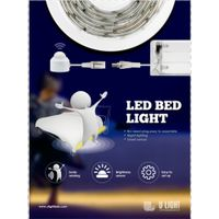 Bed sensor light body sensing automatic shut off for single bed