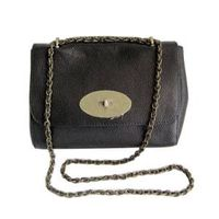 Genuine leather cowhide lady chain handbags