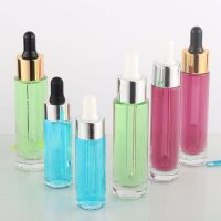 Amazing Quality Bottles Glass Serum Bottle 30Ml with Gold/Sliver Dropper and Can be Customize Box