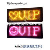Best selling multi-language led digit nameplate B1236