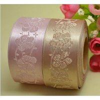 satin ribbon grosgrain ribbon jacquard elastic webbings for bra strap thumbnail image
