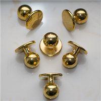 custom silver gold plastic chef uniform button for kitchen restaurant