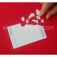 SECUTEK Standard Destructible Vinyl Label Materials