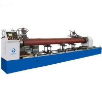 China factory customized automatic metail pipe tube flange welding machine for seam welder