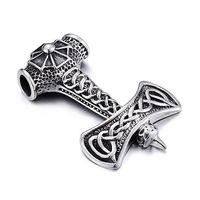 Retro Punk Stainless Steel Necklace Pendants Men's Jewelry Wholesale Vintage Personality Pendants thumbnail image