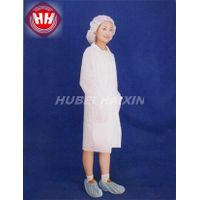 Disposable Nonwoven SMS Visitor Coat