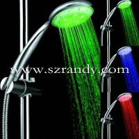 ABS plastic led shower with battery free